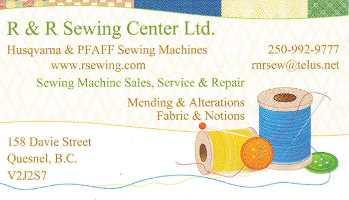 R & R Sewing Center