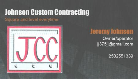 Johnson Custom Contracting